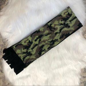 Other - Handmade Fleece Camo Scarf